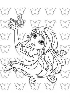 monster high bratz coloring pages - photo#9