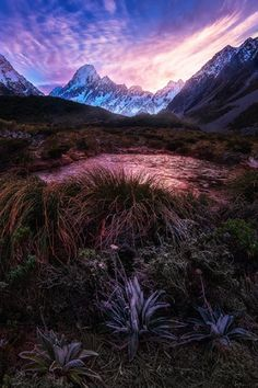 Mt. Cook/Aoraki, New Zealand