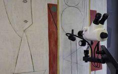 """Il dipartimento di conservazione della Collezione Peggy Guggenheim restaura il capolavoro di Pablo Picasso: Lo Studio Il dipartimento di conservazione della Collezione Peggy Guggenheim ha iniziato un attento lavoro di indagine e di conseguente restauro di uno tra i più famosi quadri di Pablo Picasso: """"Lo studio"""" ((L #picasso #lostudio #peggyguggenheim"""