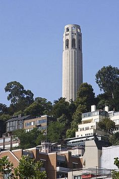 #SanFrancisco #community {Coit Tower}