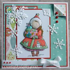 Here they are my favourite Christmas Cards of 2010 and I do hope you can join me. Just make a post with your five favourites and link it to ...