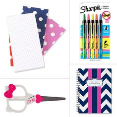 I actually ( I know this is geeky) love getting school supplies.  Loose leaf paper, pencils, and pens are all appreciated :)