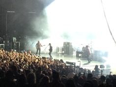 Arctic Monkeys 10/14. They sound great live