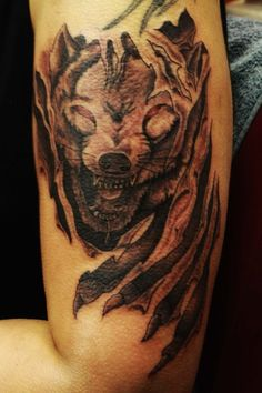 Wolf tattoo designs are meant for both men and women, You can get wolf tattoos in every size. check these Amazing Wolf Tattoos Design Ideas. Wolf Tattoo Shoulder, Wolf Tattoo Forearm, Wolf Tattoo Sleeve, Sleeve Tattoos, Tribal Tattoos, Wolf Tattoos Men, Tattoos For Women, Tatoos, Wolf Pack Tattoo