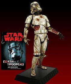 Estátua Star Wars Zumbi: Stormtrooper Zumbi do Livro Death Trooper
