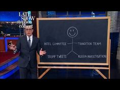 This Diagram Shows Nunes' Conflict Of Interests In Investigating Trump  The Late Show with Stephen Colbert