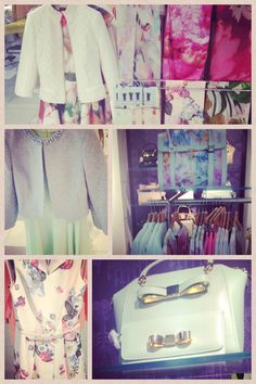 Love for ted baker#fashion# flowers# pastel#colors#spring# want# like
