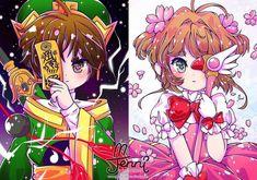 #Sakuracardcaptor #Sakura #Syaoran #jennillustrations