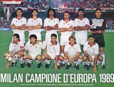 AC Milan team group in Football Italy, Milan Football, Football Icon, World Football, Football Team Pictures, Team Photos, Ac Milan, Ruud Gullit, Marco Van Basten