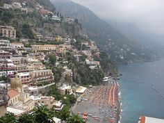 Positano is a small town located on the Amalfi Coast of Compania and is one of the most popular tourist attraction in Italy. The city seems to be scattered from top to bottom down a hillside leading to the coast.