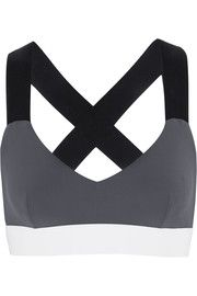 Ola color-block stretch-jersey sports bra | No Ka'Oi | UK | THE OUTNET