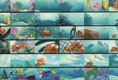 Finding Nemo concept art by Ralph Eggleston, via hlynncruz at Flickr