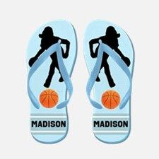 Basketball Girl Flip Flops Calling all Basketball Players! Enjoy our awesome Basketball Tees and Gift. http://www.cafepress.com/sportsstar/13293761 #Girlsbasketball #Lovebasketball #Basketballgift #Basketballchick #Hoopdreams