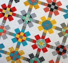 Red Pepper Quilts, Labyrinth quilt pattern, about $8. I need this!