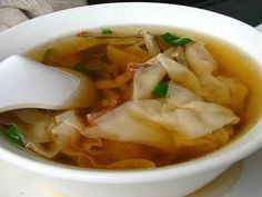 Won Ton Soup... OMG I loooove this!!