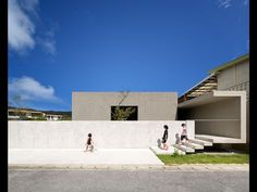 House in Nanjo di Matsuyama Architect and Associates Asian Architecture, Minimal Architecture, Museum Architecture, Commercial Architecture, Amazing Architecture, Contemporary Architecture, Architecture Design, Story House, House 2