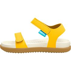 Native Shoes - Charley Sandal - Toddlers' - Crayon Yellow/Bone White/Toffee Brown