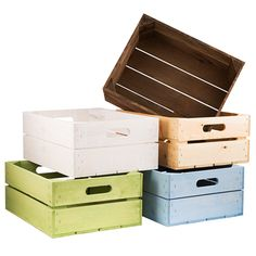 Medium Planter Crates perfect for shop displays or adding colour to your garden..