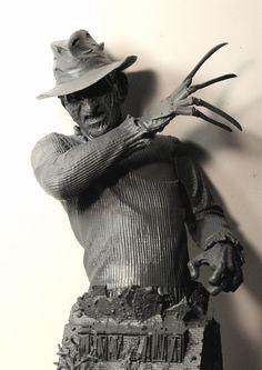 Freddy Krueger bust by LocascioDesigns.deviantart.com on @deviantART