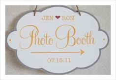 Photo Booth. Free Printable.