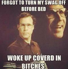 Funny Will Ferrell swag