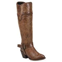 Black Star Women's Andromeda Tan Leather Boots