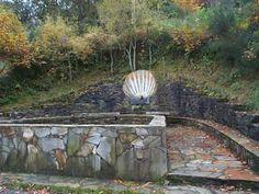 The Camino Santiago Compostela Pilgrimage - San Zil, The fountain.