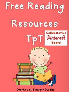 Free Reading Resources TpT, collaborative board.