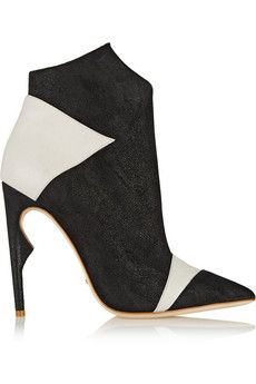 Jerome C. Rousseau Lugosi brushed-suede ankle boots | THE OUTNET