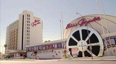 "vintagelasvegas: "" Debbie Reynolds Hollywood Hotel, Las Vegas c. Formerly Royal Inn, Royal Americana, Paddlewheel. Later known as Greek Isles Hotel, Clarion. Demolished in "" Vegas 2, Vegas Casino, Las Vegas Nevada, Places To Travel, Places To Visit, Hollywood Hotel, Debbie Reynolds, Retro Images"