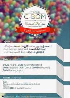 Open Recruitment Panitia C-BOM