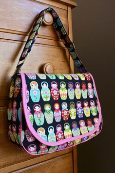 Zaaberry: Matryoshka Messenger Bag