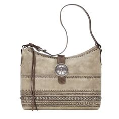 American West Trading Post Large Zip Top Concealed Carry Purse