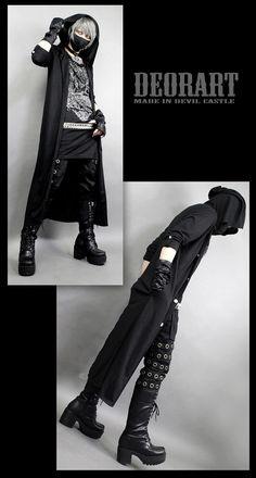 fashion/Visual kei/goth/ V系,ヴィジュアル系,スチームパンク,ゴシック,ストリート モード,ハトメ,パンツ,ボトムス,パンクロック,レディス,コーデ,ファッション,コスプレ,ハロウィン,コーデ,メンズ,Deorart,ディオラート