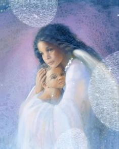 Angel of love and peace By Nancy Noel 🎨 Angel Images, Angel Pictures, Jesus Pictures, Good Night Greetings, Good Night Messages, Spiritual Pictures, Peacock Wall Art, Fairy Wallpaper, Mother Images