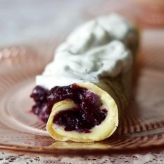 Three separate, easy recipes come together to create an entirely new culinary experience that I'm sure you will enjoy! Blueberry Lemon Curd Crepes