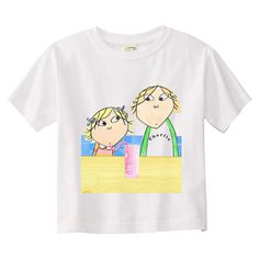 Charlie and Lola Favourite Cartoon Character Tshirt. $6.00, via Etsy.