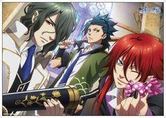 Hades,Takeru,Loki