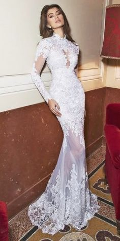dimitrius-dalia-2017-wedding-dresses-full-lace-halter-neckline-long-sleeves-250x500.jpg (250×500)