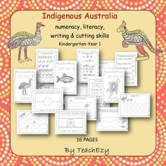 Indigenous Australia Activities K/1