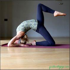 Eka Pada Kapotasana variation #yoga