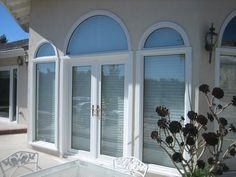 French Door With Arch Top. Also this 3 minute video http://www.youtube.com/watch?v=5O7Ils19DjI is the most straightforward and easy to understand advice on window installations available on the internet today.