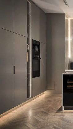 156 modern luxury kitchen design ideas that will inspire you 43 Luxury Kitchen Design, Kitchen Room Design, Home Decor Kitchen, Interior Design Living Room, Kitchen Designs, Kitchen Ideas, Kitchen Inspiration, Modern Interior Doors, Kitchen Tips