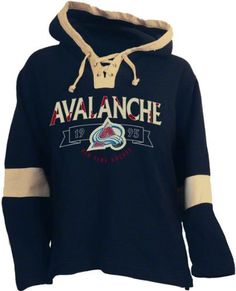 Colorado Avalanche Old Time Hockey Navy Jetted Lightweight Hooded Fleece Sweatshirt by Old Time. $59.99. Colorado Avalanche Old Time Hockey Navy Jetted Lightweight Hooded Fleece Sweatshirt