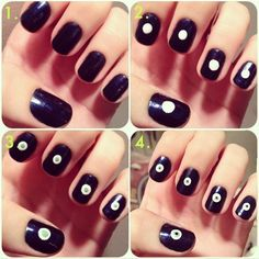 nail art ideas step by step - Nail Arts Gallery - Step By Step Nail Arts Images @ http://heartjohn.com/