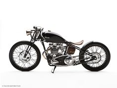 "Of all the retro-British motorcycles made by Falcon (all of which I covet), the details make ""The Bullet"" my favourite."