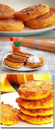 Тиквени палачинки - най-добрите рецепти.  Как да се готви палачинки и вкусна тиква