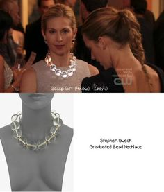 Lily van der Woodsen, Stephen Dweck necklace