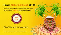 MeriYaadein Studios is sharing the happiness by giving one FREE (8x10) photo print!  Book Now Offer valid until 31st Jan 2018 *This offer cannot be clubbed with any other MeriYaadein offers.