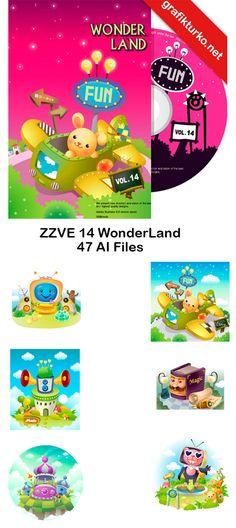 ZZVE 14-WonderLand Vector Pack